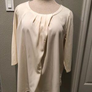 3/4 sleeve blouse top